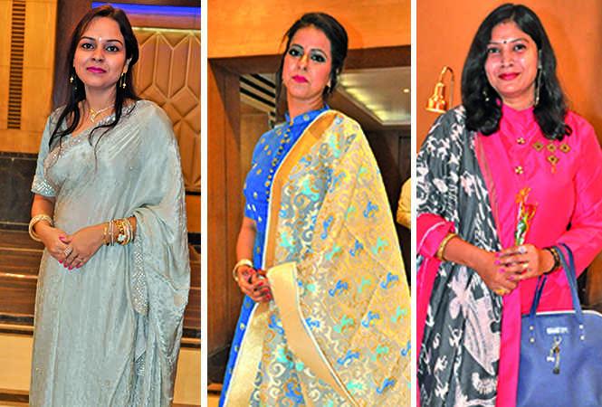 (L) Ankita (C) Arunim (R) Rachna (BCCL/ AS Rathor)