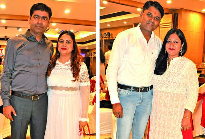 (L) Mudit and Shivani (R) Rajkumar and Jyoti (BCCL/ AS Rathor)