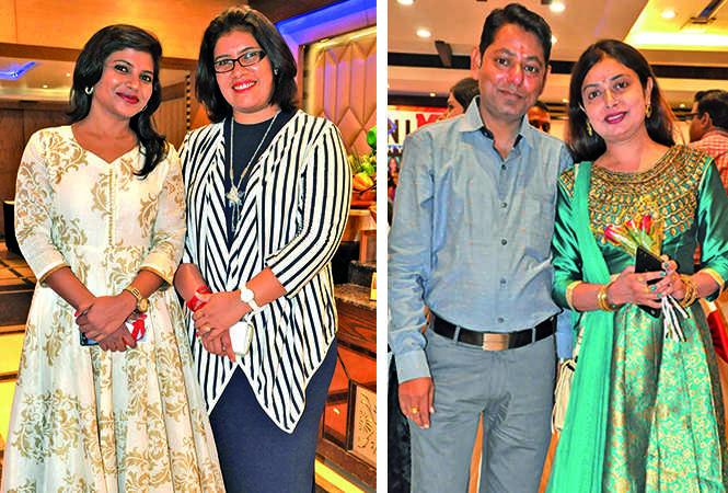(L) Rupali and Divya (R) Sheel and Pooja (BCCL/ AS Rathor)