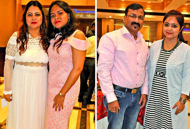 (L) Shivani and Jolly (R) Shyam and Vinita (BCCL/ AS Rathor)