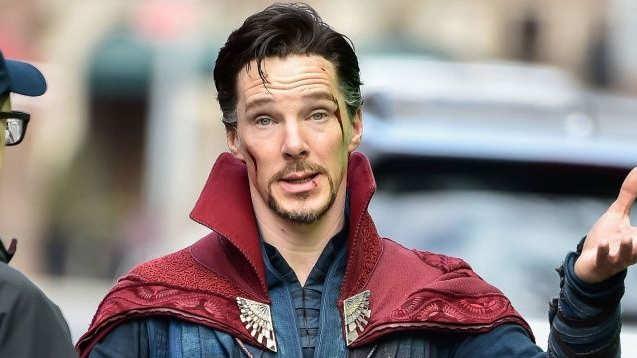 Benedict Cumberbatch turns real life superhero!