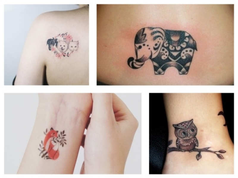 b294cc176 If you are an animal lover like we are, no amount of adoration toward our  furry friends will ever feel like 'too much'. And we think that a tattoo  design of ...