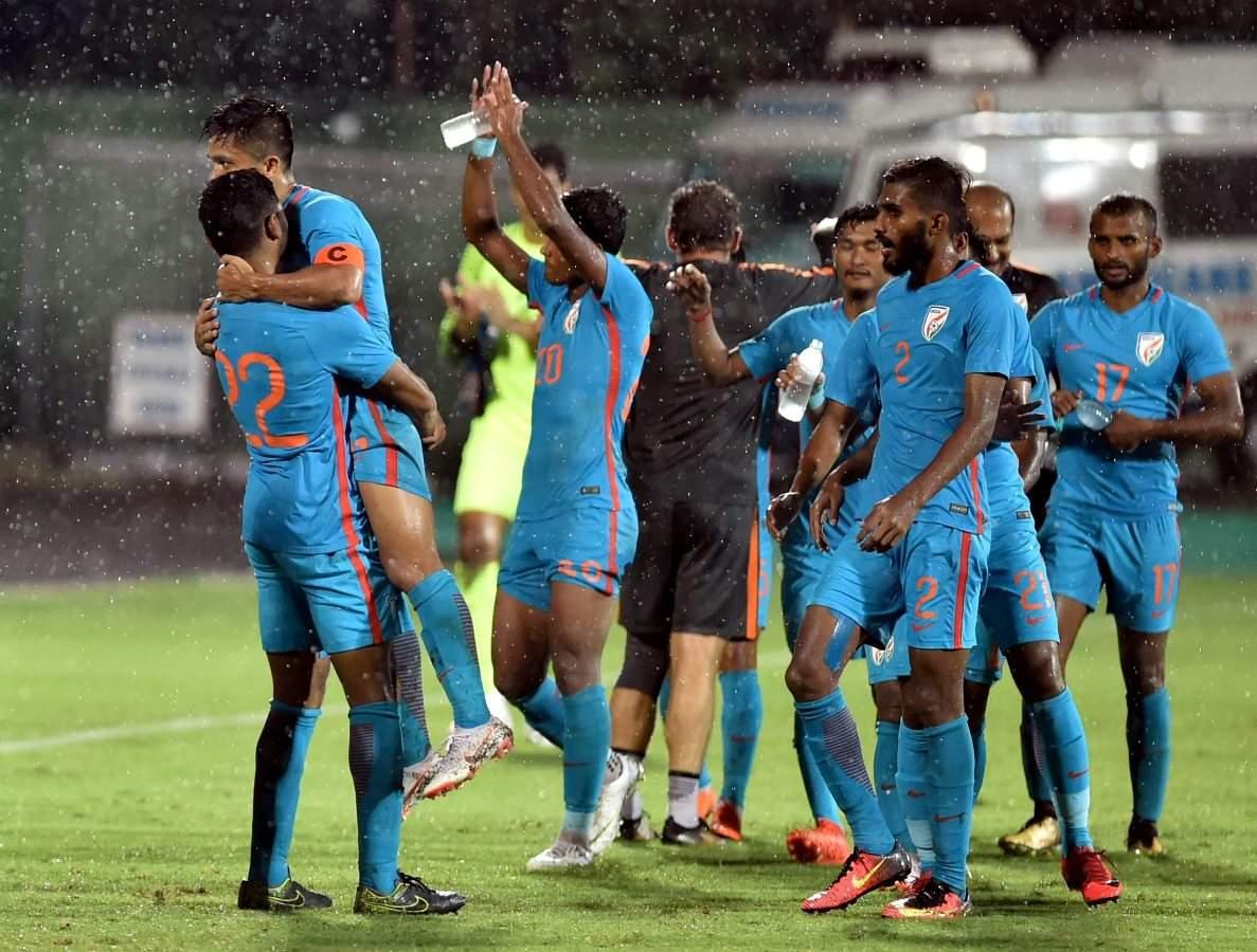 Sunil Chhetri's team thrashed Kenya