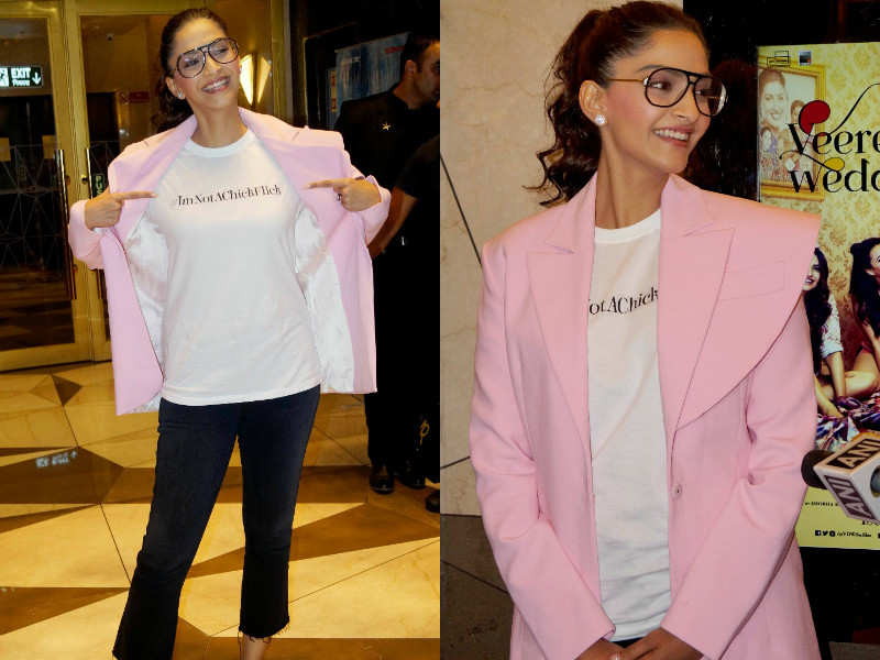 Veere Di Wedding Outfits.Sonam Kapoor S Veere Di Wedding Promotional Outfits Prove She S
