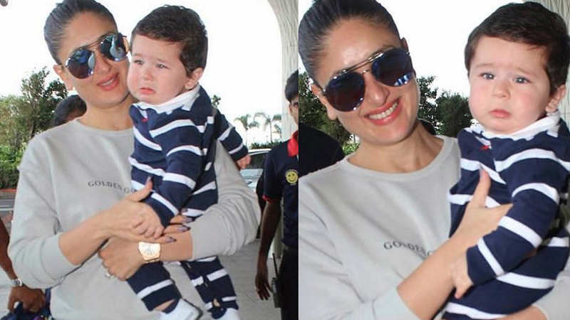 Mommy Kareena Kapoor says Taimur Ali Khan is her lucky charm