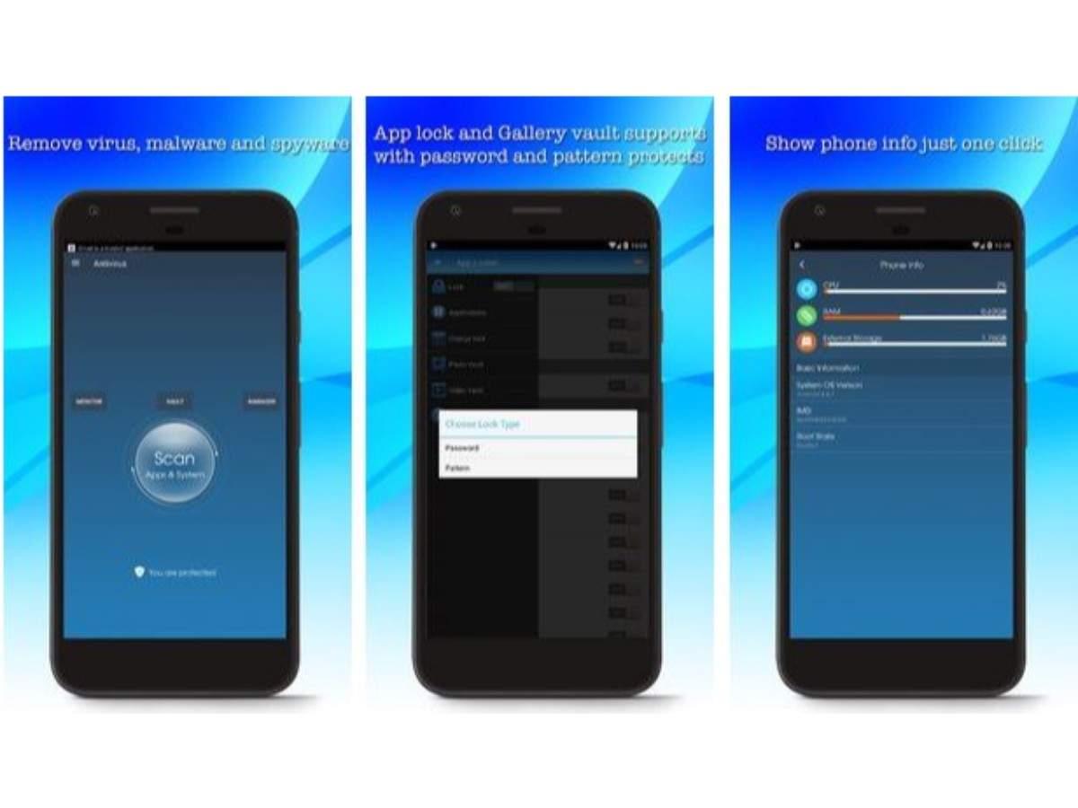 Antivirus Cleaner For Android & App Locker Pattern