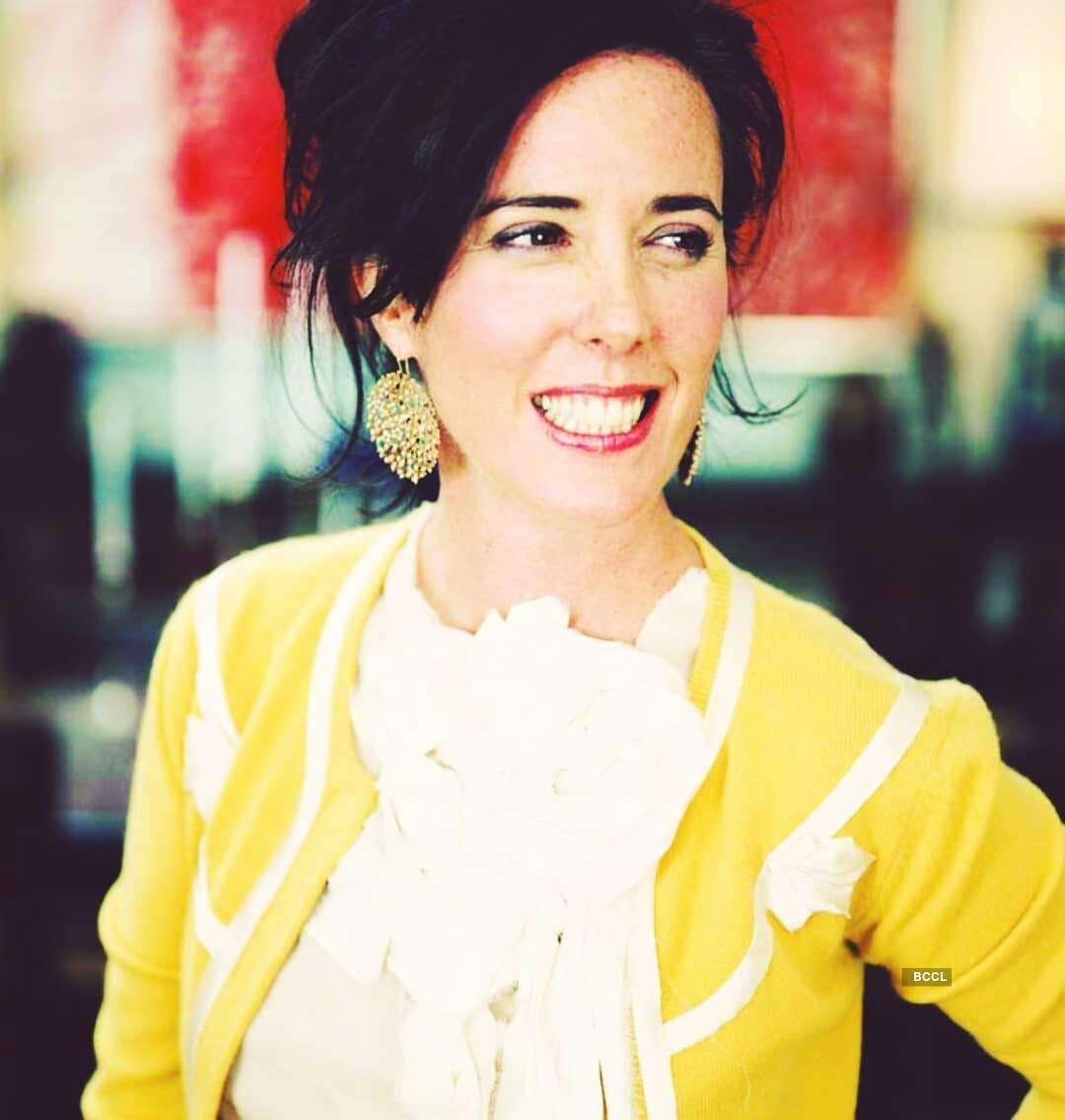 Renowned designer Kate Spade committed suicide