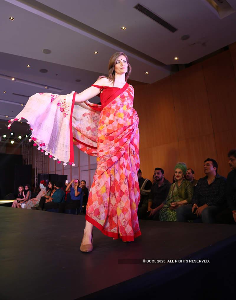 Abhishek Dutta showcases Bengal's traditional handloom and weaves