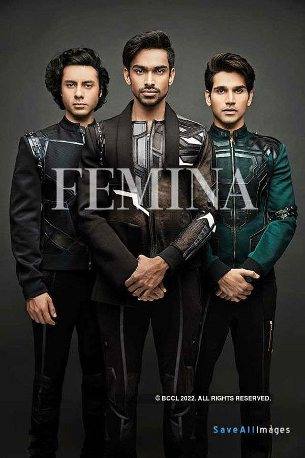 Mr. India 2016 winners on the Femina cover