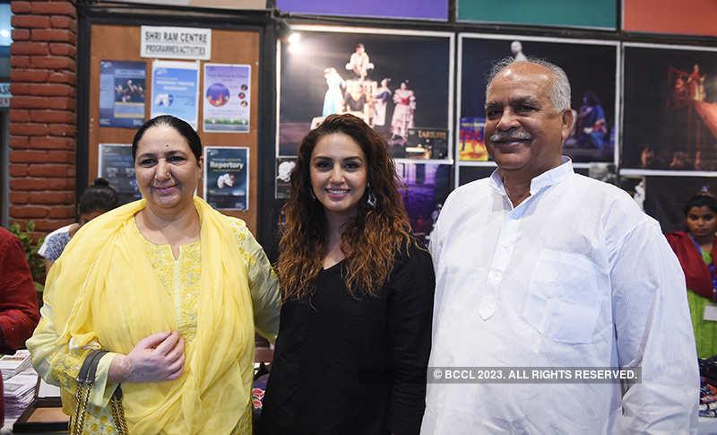 Huma Qureshi at a cultural event