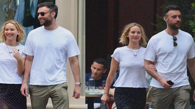 New man in Jennifer Lawrence's life