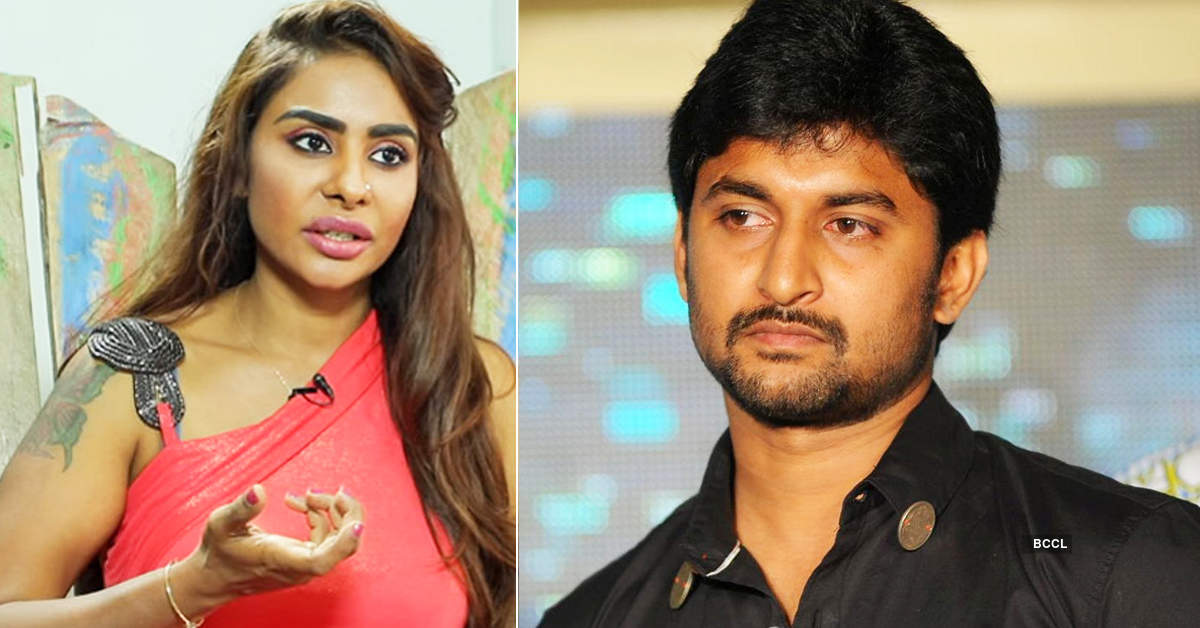 Controversial actress Sri Reddy threatens to shame actor Nani, details inside
