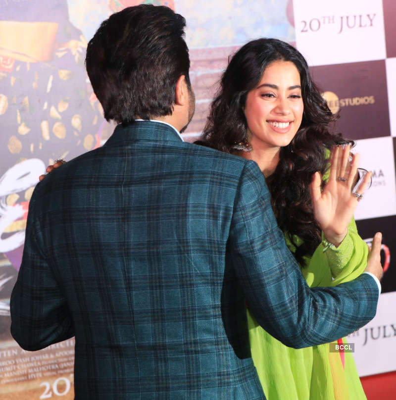 Kapoor family stands united, supports Janhvi at the trailer launch of 'Dhadak'