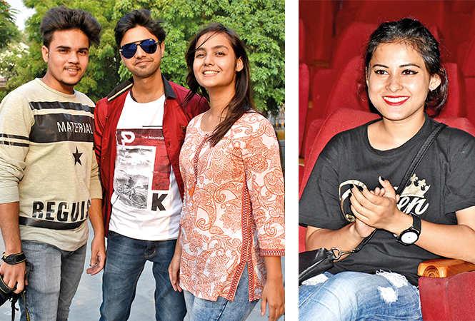 (L) Dhananjy, Abhishek and Namrata (R) Priya Shahi (BCCL/ Vishnu Jaiswal)