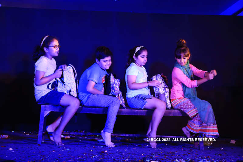 Childrens' participated at a theatre carnival