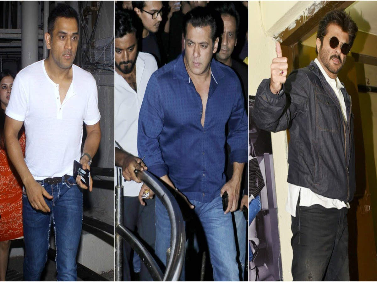 Salman Khan, Anil Kapoor, MS Dhoni among others at 'Race 3' special screening