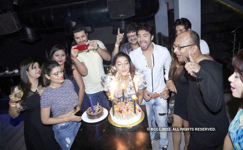 Arpita Mukherjee's birthday party
