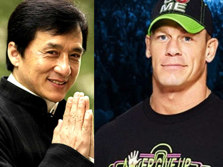 Jackie Chan to team up with John Cena for action-thriller