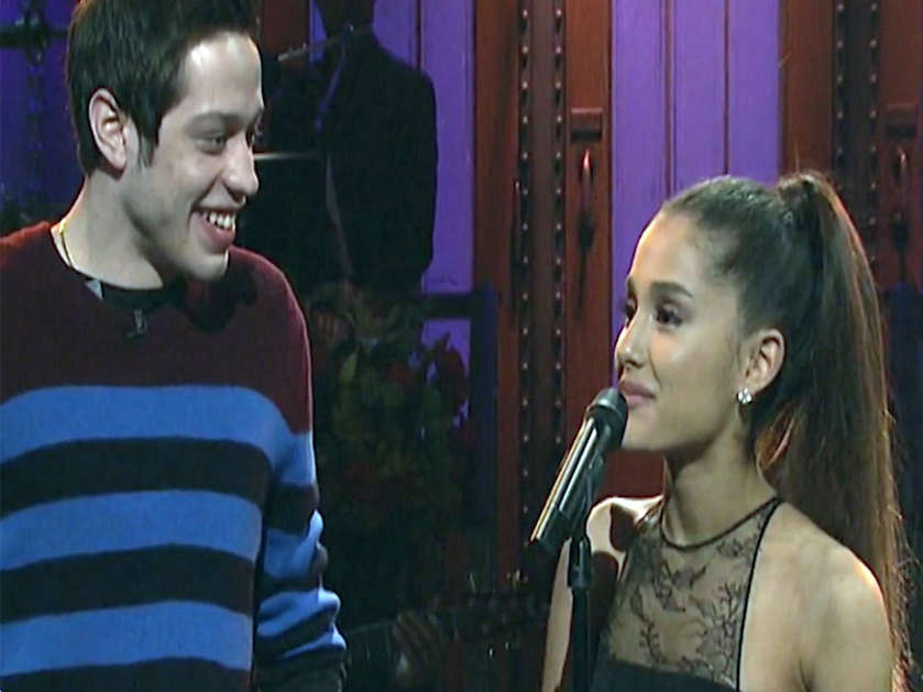 Ariana Grande engaged to beau Pete Davidson
