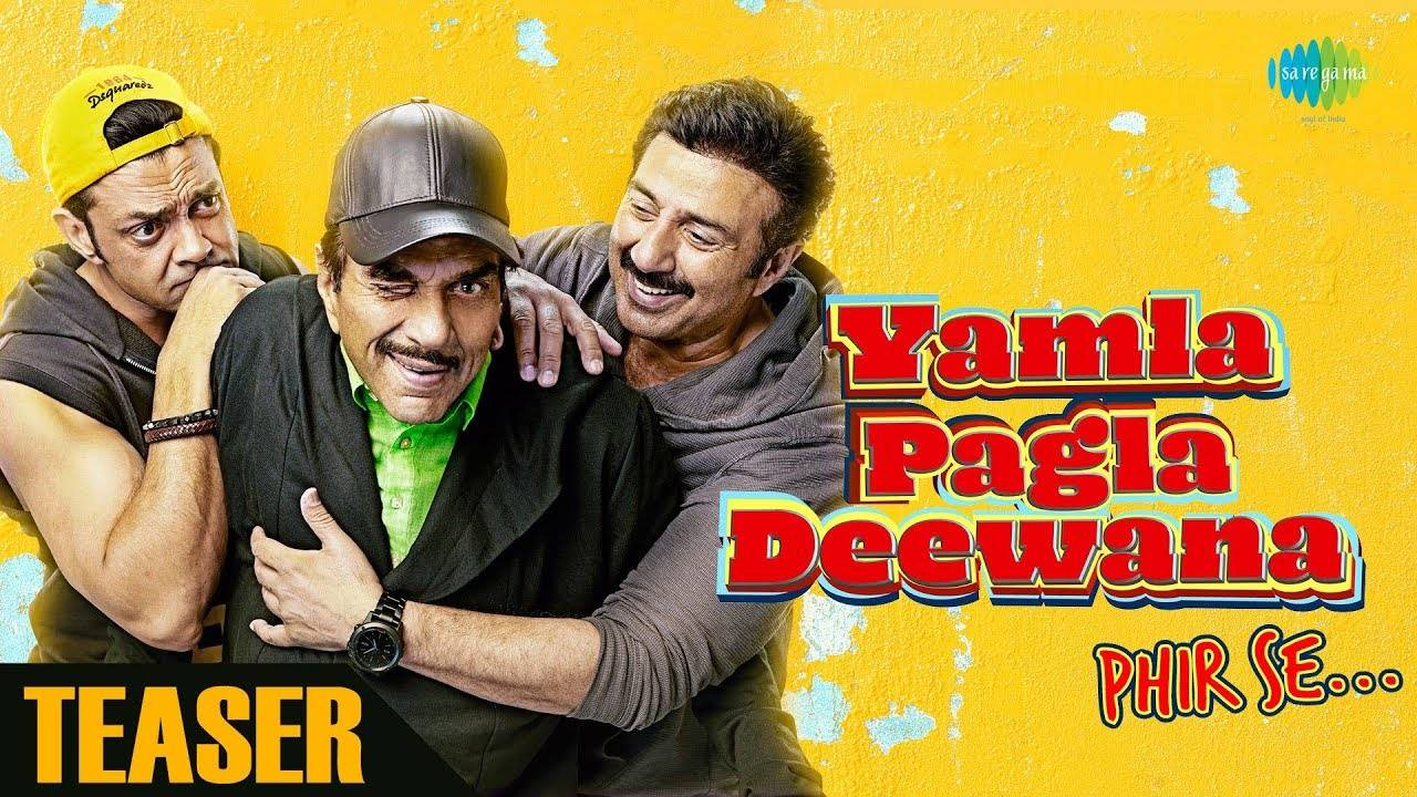 Yamla Pagla Deewana Phir Se' teaser: This ride with the Deols is a laugh  riot   Hindi Movie News - Times of India