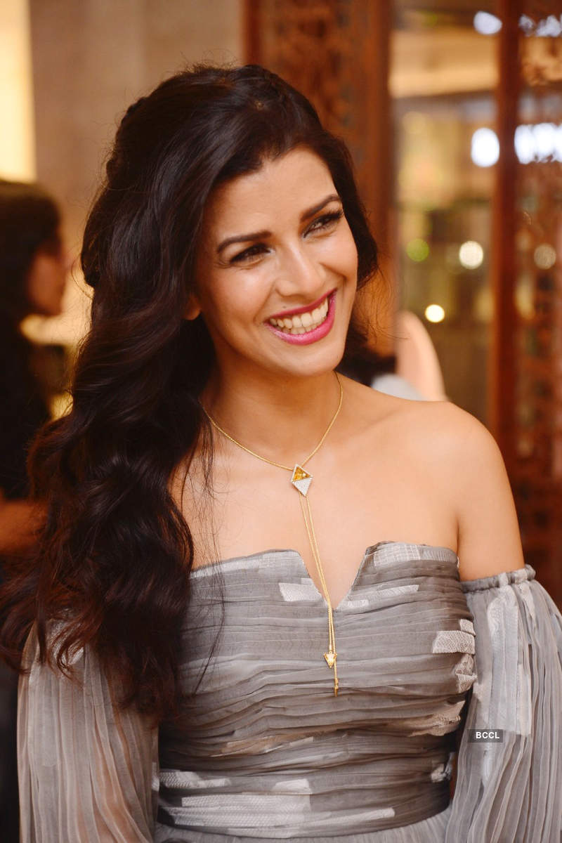 Nimrat Kaur graces the launch of a jewellery brand