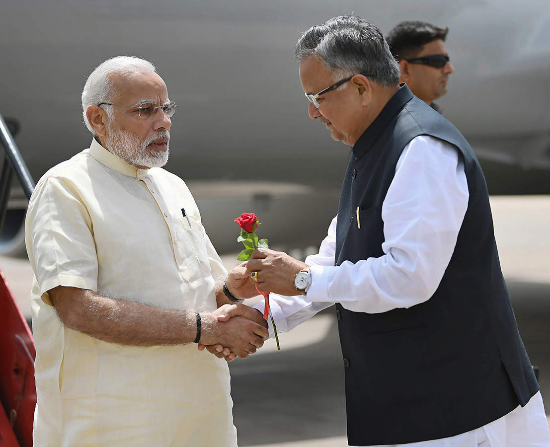 PM Modi inaugurates multiple projects in Chhattisgarh