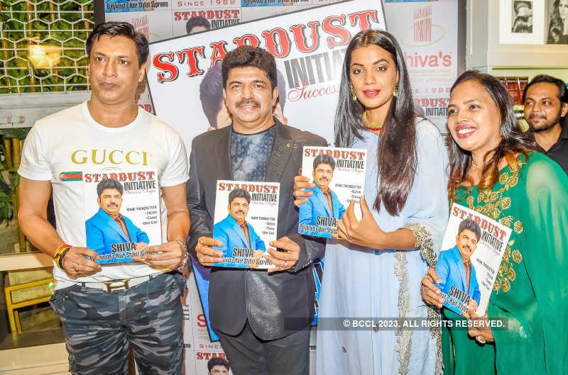 Mugdha Godse attends Shiva's salon launch