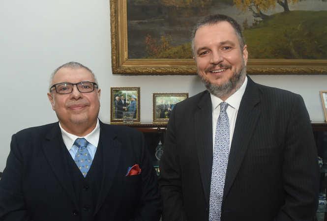 SAM_6558-Agis-Loizou,-High-Commissioner-of-Cyprus-with-(R)-Vladimir-Maric,-Ambassador-of-the-Republic-of-Serbia