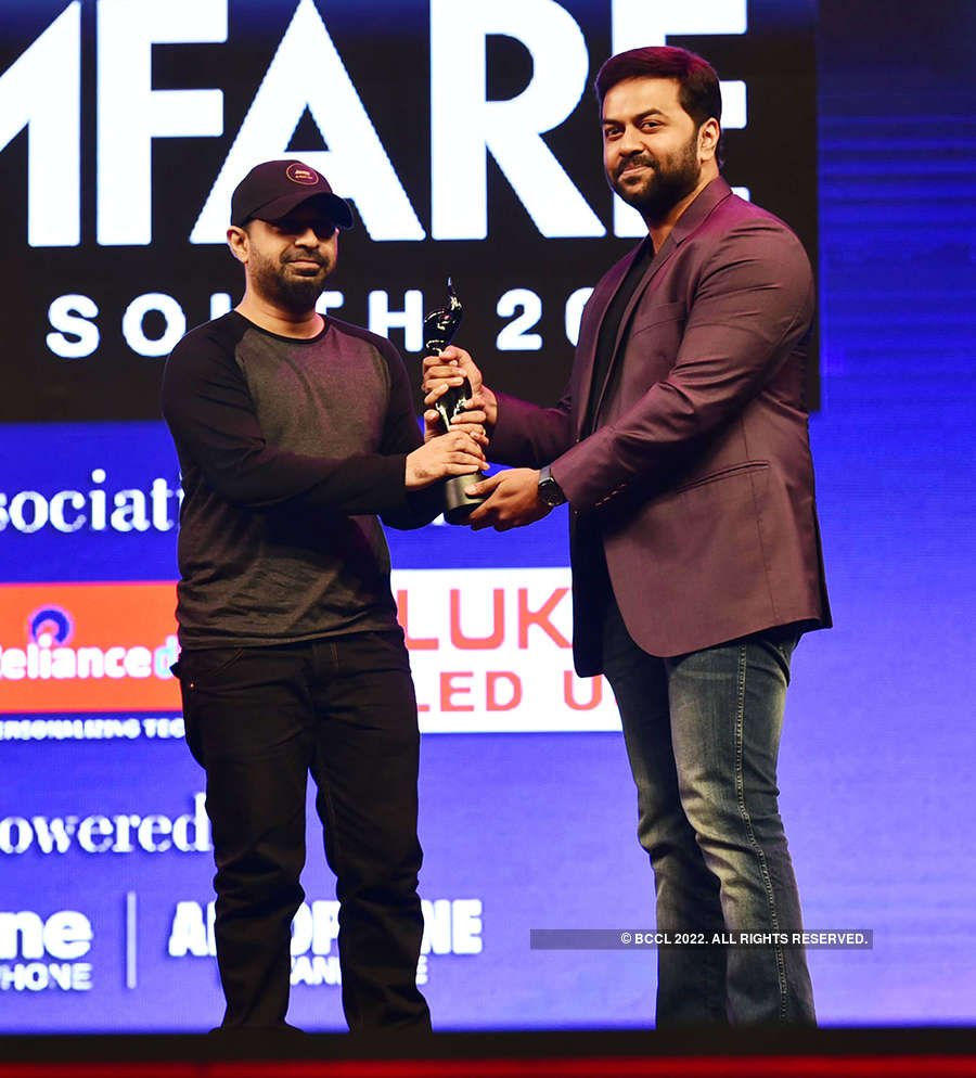 65th Jio Filmfare Awards (South) 2018: Best Shots