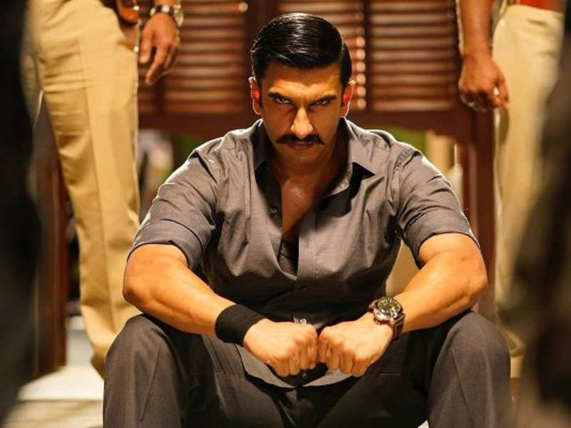 Ranveer Singh looks fierce as a cop in the latest still of Rohit ...