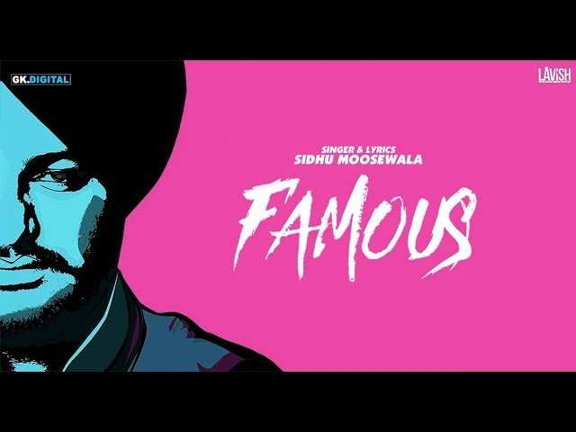 'Famous': Sidhu Moose Wala's latest is all about the swag