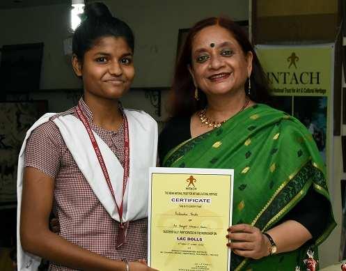 Subhadra Parida with Nayantara Palchoudhuri