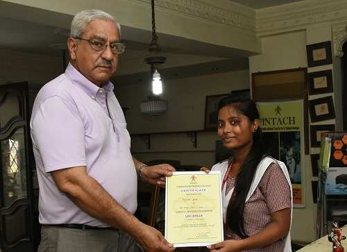 GM Kapoor with Priyanka Ghosh
