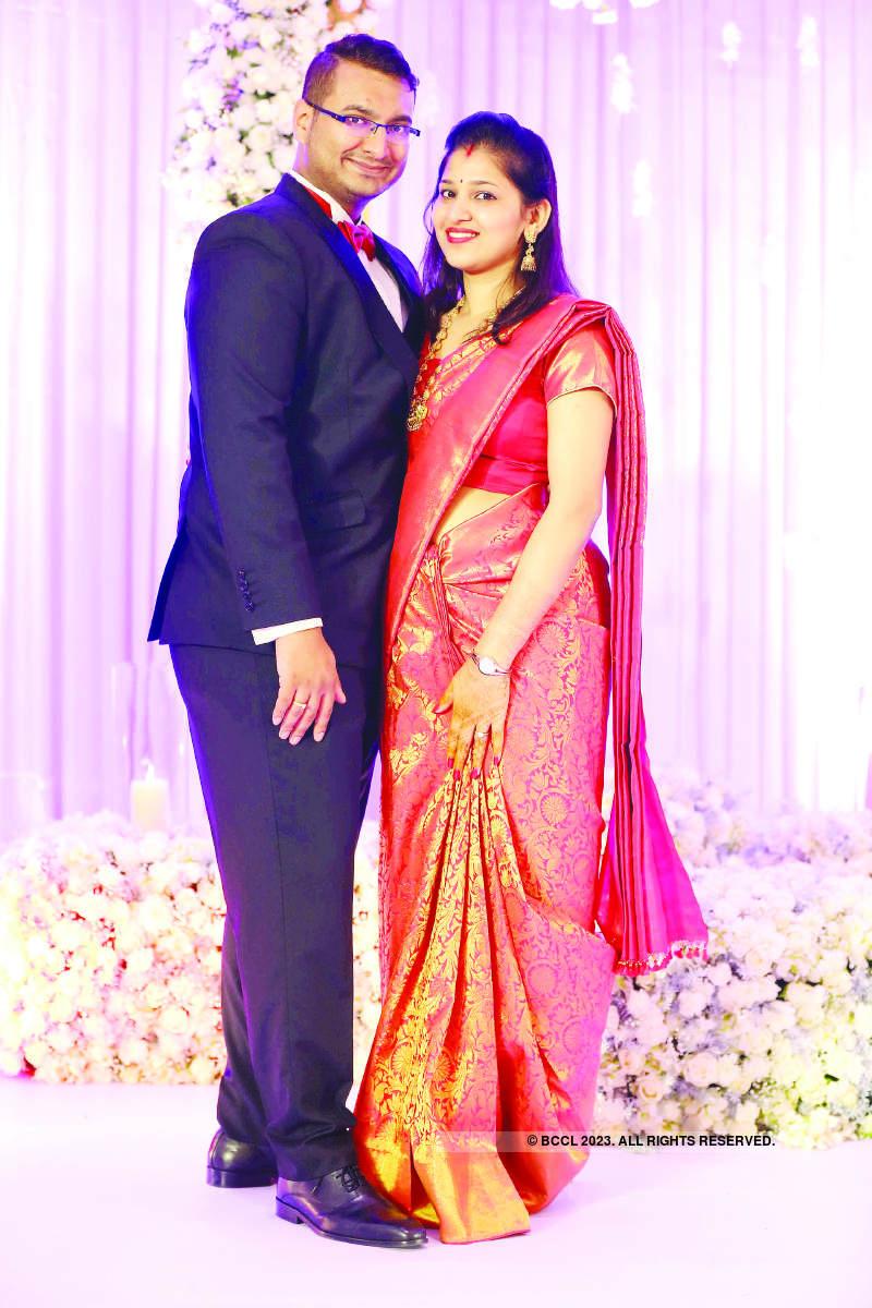 An all-star reception of Praveen Sood's daughter Aashita and cricketer Mayank Agarwal