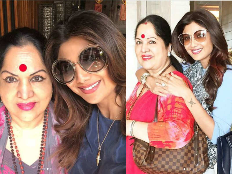 Shilpa Shetty Kundra Posts A Heart Warming Birthday Wish For Her Mother
