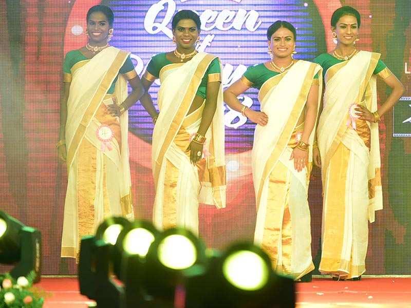 Beauties in Kerala saree