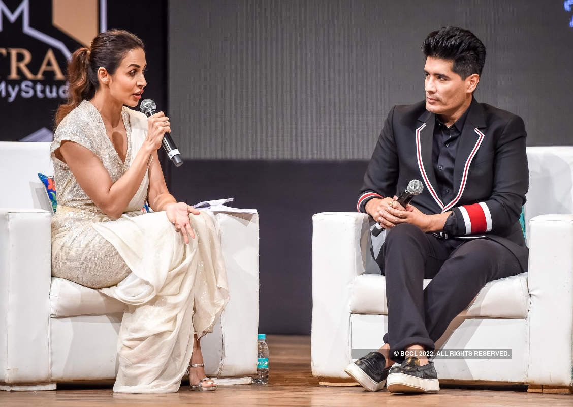 Malaika Arora and Neha Dhupia grace the launch of 'Learn from Manish Malhotra'