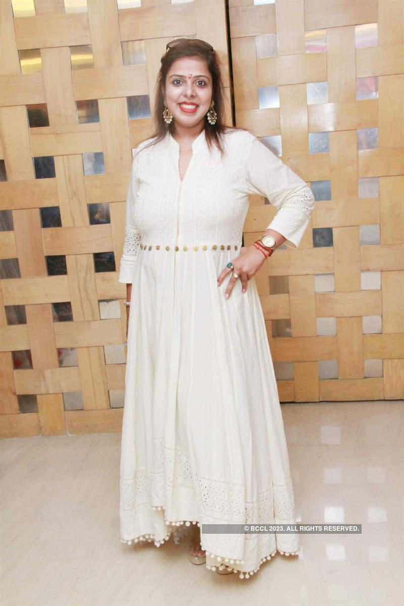 Pradaini Surva attends Style bazaar exhibition