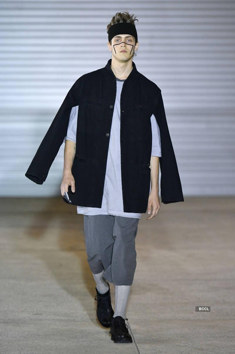 Paris Men's Fashion Week: Boris Bidjan Saberi