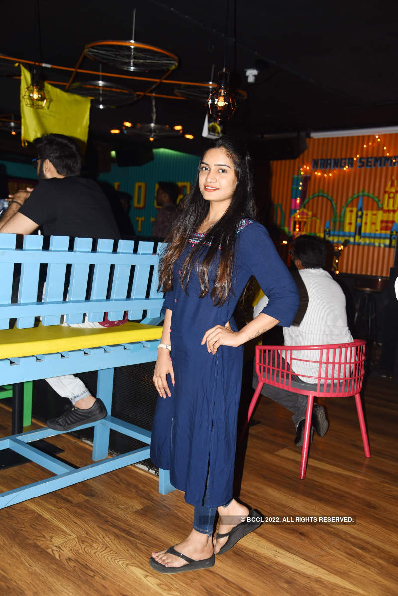 Socialites attend party at The Cycle Gap pub