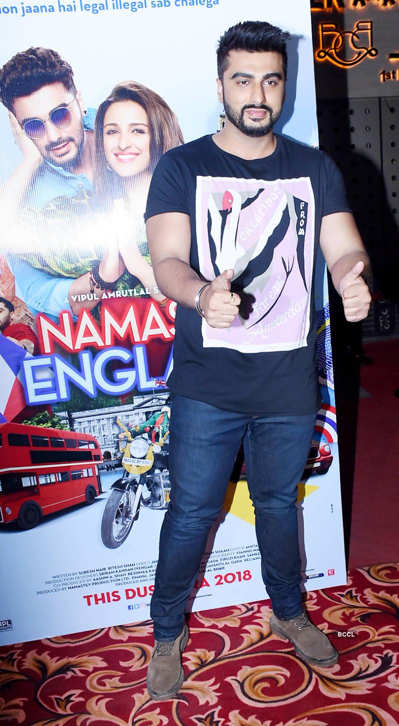 Parineeti Chopra and Arjun Kapoor grace the wrap-up party of 'Namaste England'