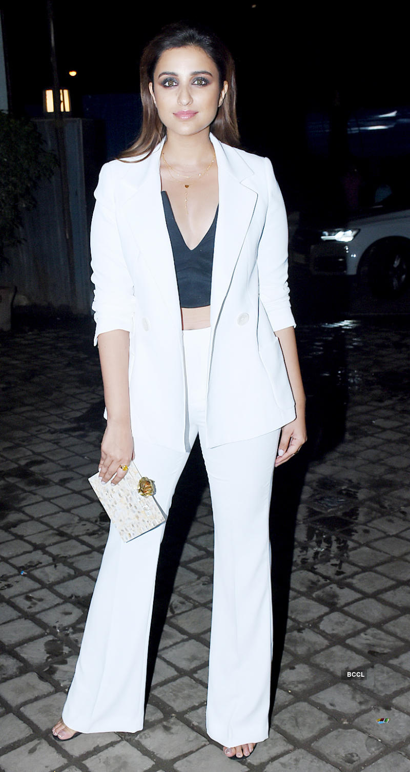 Parineeti Chopra and Arjun Kapoor grace the wrap-up party of 'Namaste England'