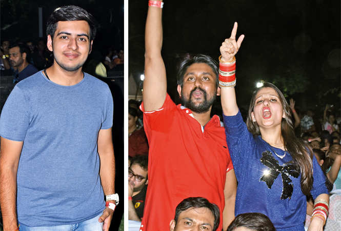 (L) Vansh Menghani (R) Rohit and Ekta (BCCL/ Vishnu Jaiswal)