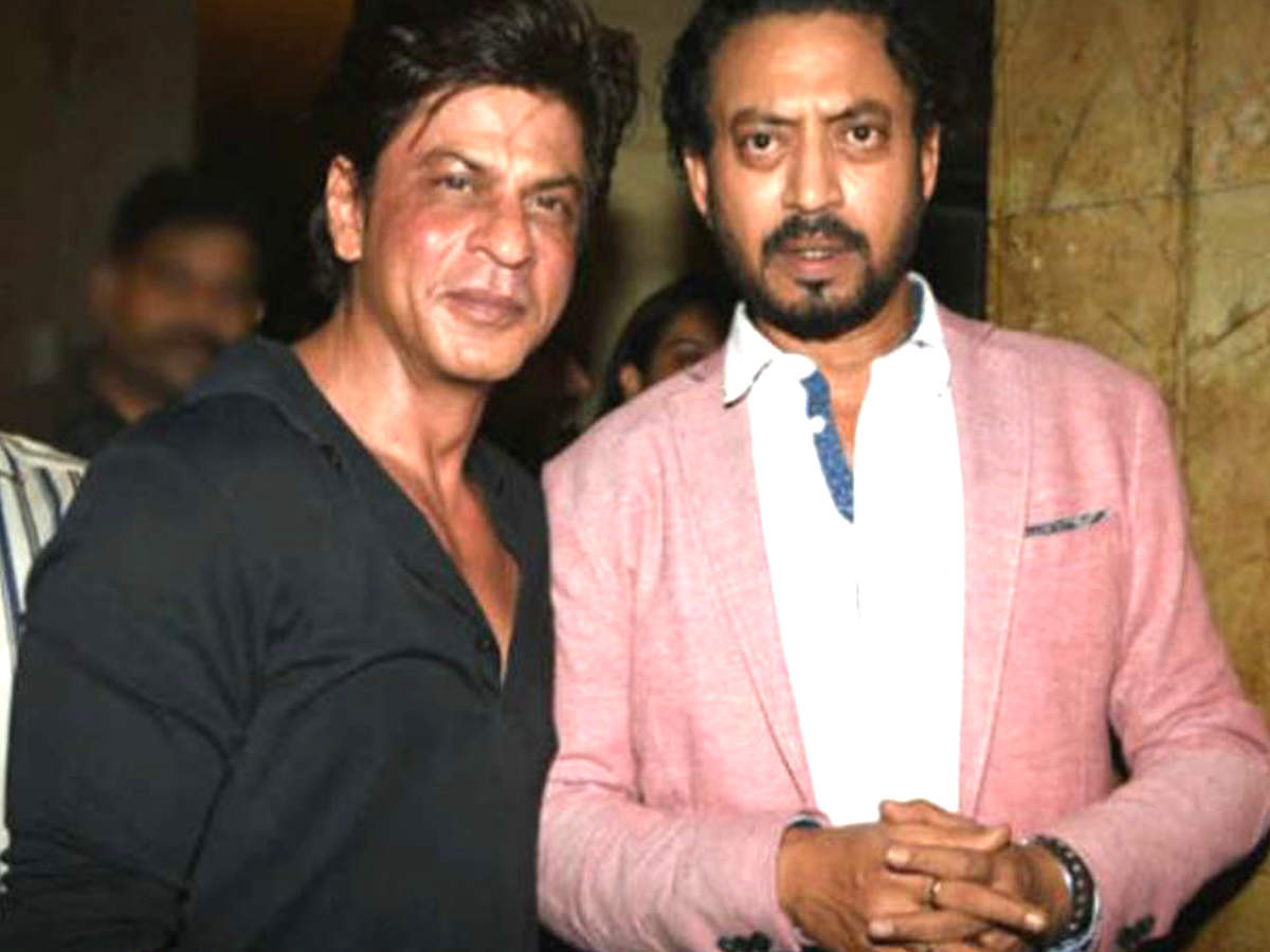 Shah Rukh Khan rushed to help ailing Irrfan Khan before he left for London