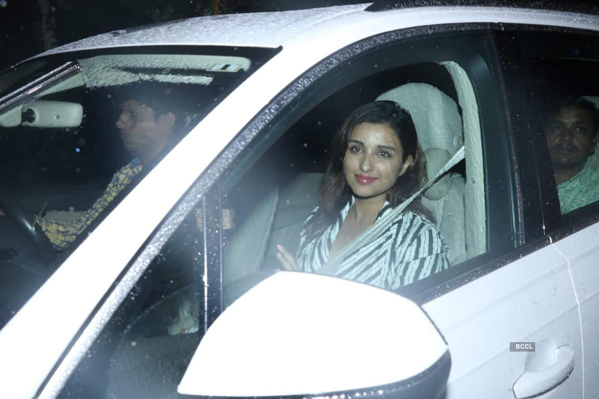 Bollywood celebrities party hard with Priyanka Chopra and Nick Jonas
