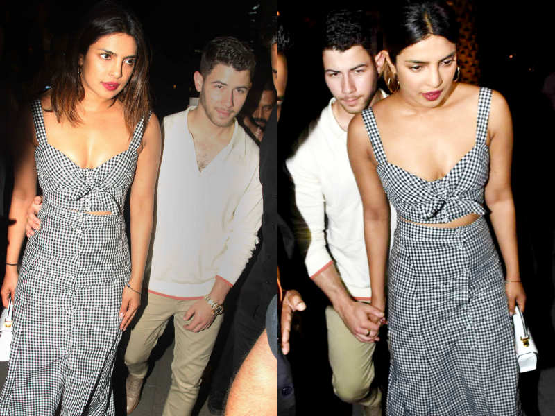 Trust Priyanka Chopra To Hit Headlines Wherever She Goes And Looks Like Her Rumoured Boyfriend Nick Jonas Is Following Suit Because The Couple Are Truly On