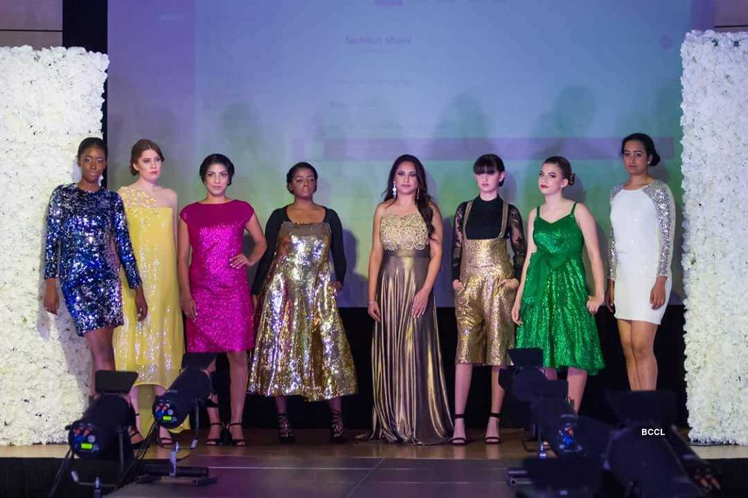 Applauds for the Sonalika Pradhan's latest fashion show and exhibition - Vitamin by Sonalika