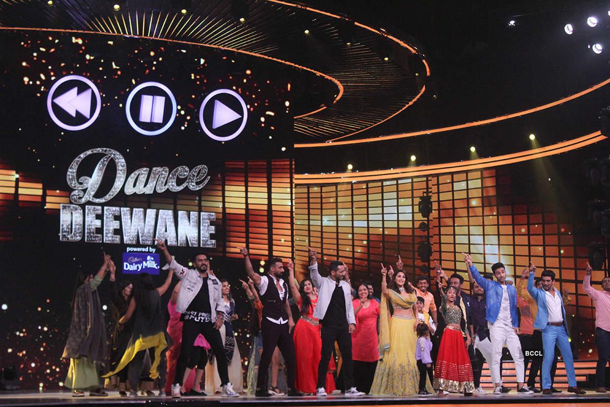 Dance Deewane: On the sets