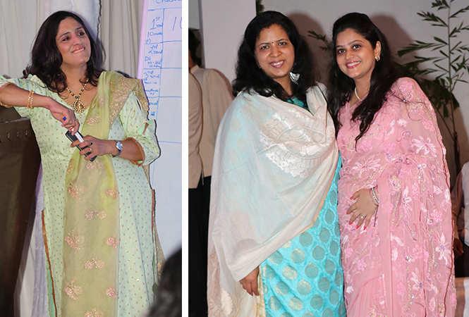 (L) Nidhee Kapoor (R) Dr Rupali and Bharati Kapoor (BCCL/ Unmesh Pandey)