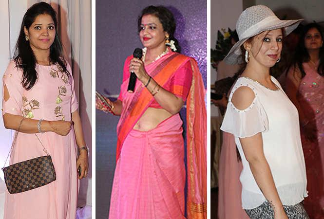 (L) Nitya Poddar (C) Poonam (R) Riya Kishnani (BCCL/ Unmesh Pandey)